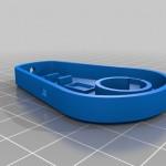 IR-Remote Case Bottom (3D rendered image)