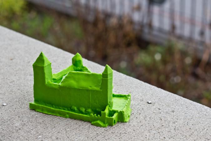 castle-printed