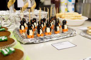 Eróffnungsfest Buffet Pinguine